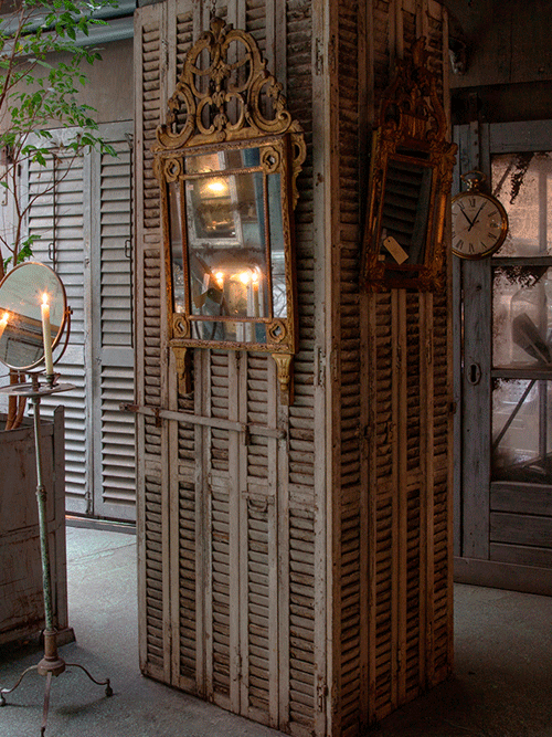 atelier anouk beerents, scheerspiegel en franse spiegels