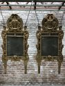 two Antique mirrors Louis XV 18th century
