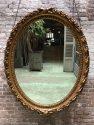 Ronde antieke spiegel
