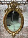 Round Antique mirror Anouk Beerents 19th century