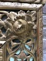 detail Antique mirror Louis XV 18th century