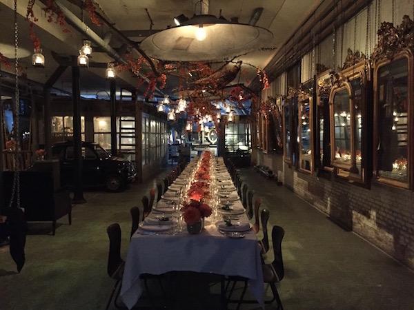 Diner met Tommy Hilfiger at Anouk Beerents Atelier