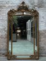 Barok spiegel met kuif