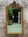Antieke franse spiegel 19e eeuw Louis XV