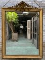 antieke spiegel met kuif
