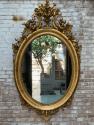 Ronde antieke spiegel Anouk Beerents